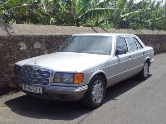Mercedes-Benz 500 SEL, 1985