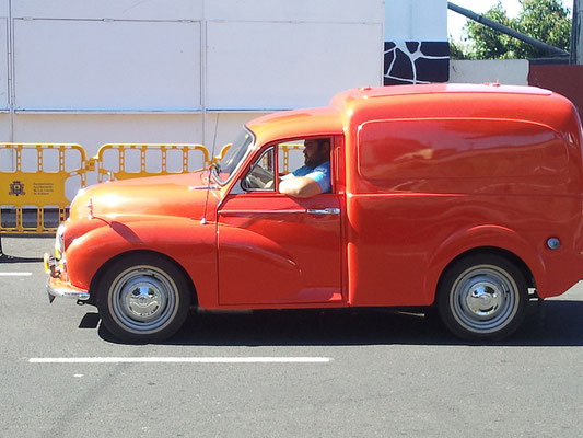 Morris Minor 1100 Van, 1956 - 1971, 1962