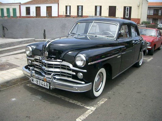 Dodge Kingsway Sedan (D40), 1952