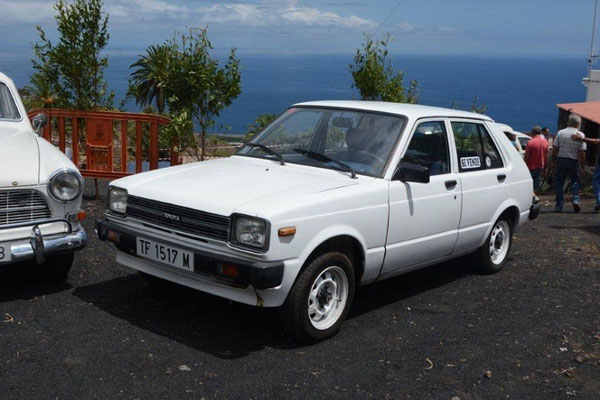 Toyota Starlet P6, 1978 - 1984, 1982