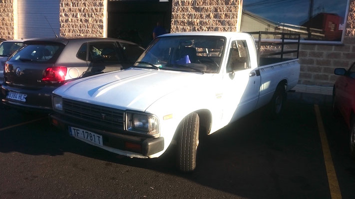 Toyota Hilux RN 30, 1978 - 1983, 1984