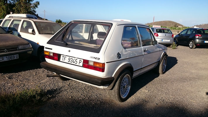 VW Golf 1 GL, 1983
