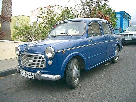 FIAT 1100-103D, 1957 - 1970, 1961
