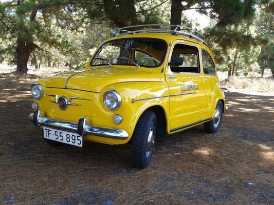 SEAT 600, 1966
