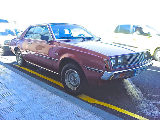 Mitsubishi Sapporo Coupe, 1980