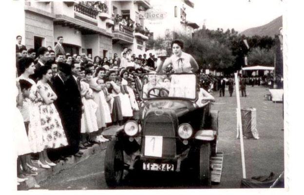 Der FIAT 501 bei einer Yincana in den 60er Jahren.