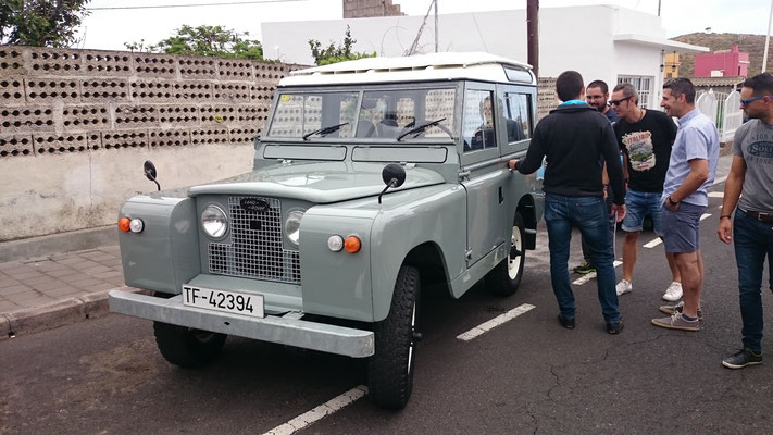 Land Rover Series II, 1962