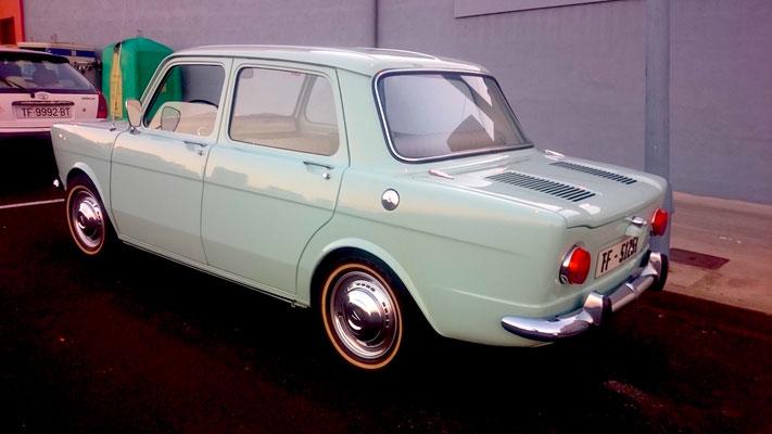 SIMCA 1000, 1968