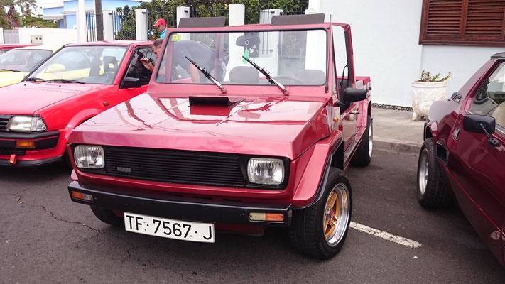 SEAT 127 Emelba Samba, 1979