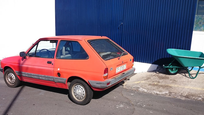 Ford Fiesta Mk II, 1983 - 1989, 1985