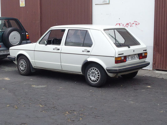 VW Golf 1 CL, 1982