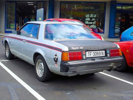 Mitsubishi Sapporo Coupe, 1981