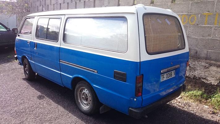 Toyota Vanette, 1982