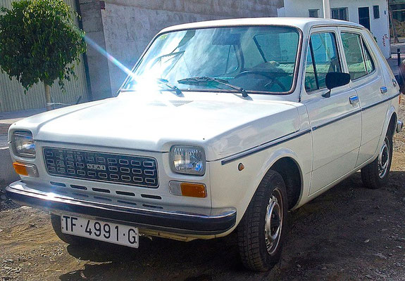 SEAT 127, 1976