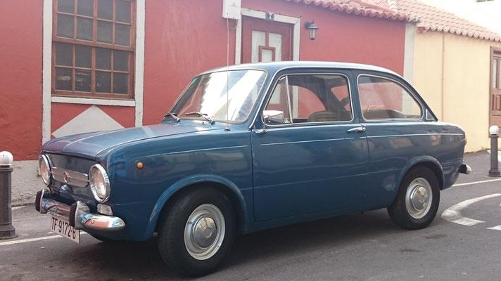 SEAT 850, 1964 - 1968, 1973