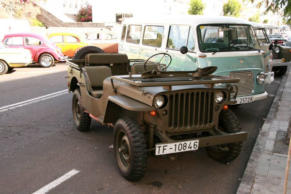 Willys Jeep, Series CJ, 1957