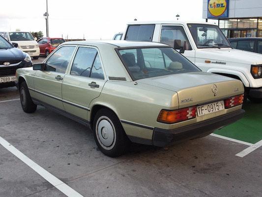 Mercedes 190E, 1986