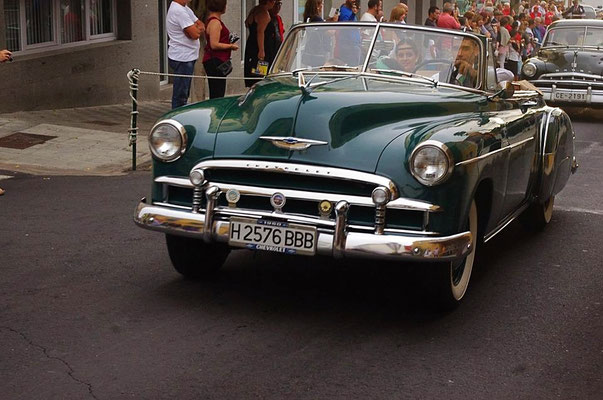 Chevrolet Bel Air, 2 door convertible, 1953–54