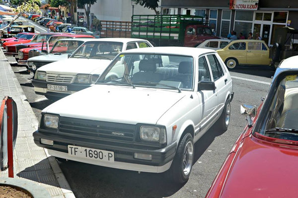 Toyota Starlet P6, 1978 - 1984, 1981