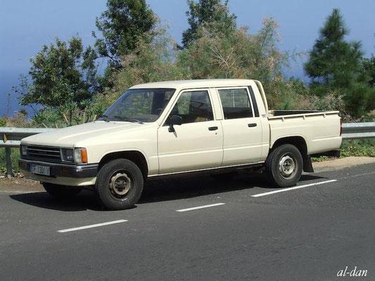 Toyota Hilux RN 30, 1978 - 1983, 1989