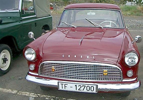 Ford Consul Mark II, 1958