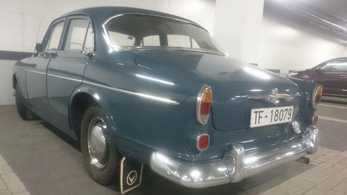 Volvo P 120/121, 1961