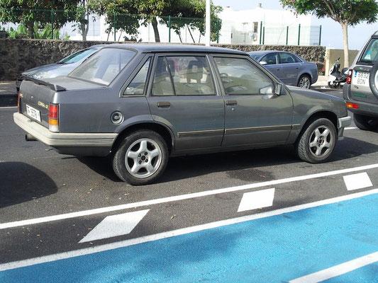 Opel Corsa TR Viertürer (1982–1987), 1987