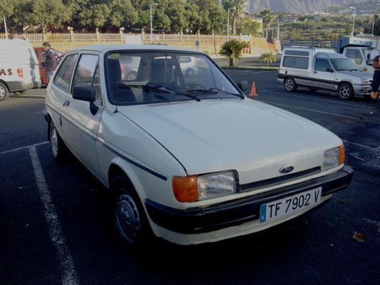 Ford Fiesta Mk II, 1983 - 1989, 1986