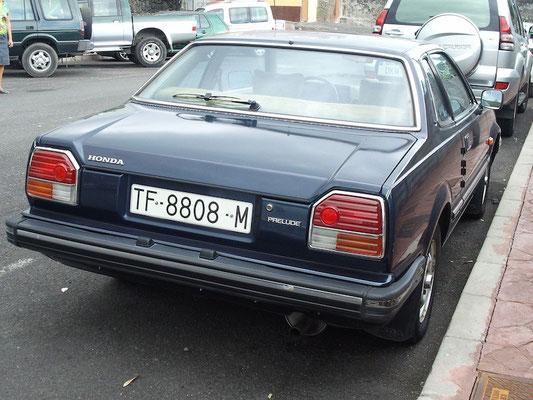 Honda Prelude, 1981