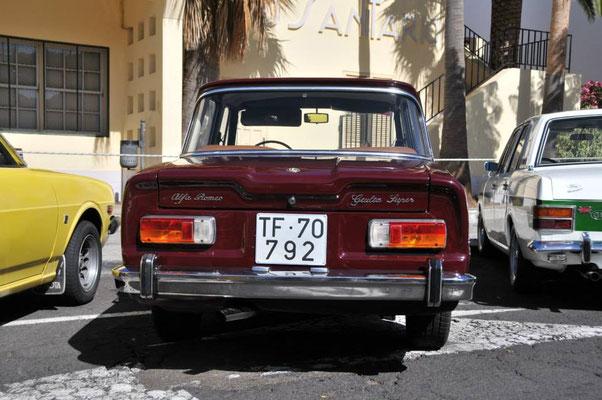 Alfa Romeo Guilia Super, 1962 - 1978, 1971