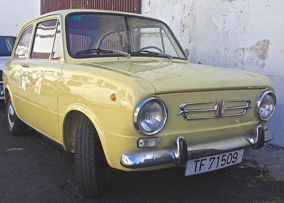 SEAT 850, 1964 - 1968, 1971
