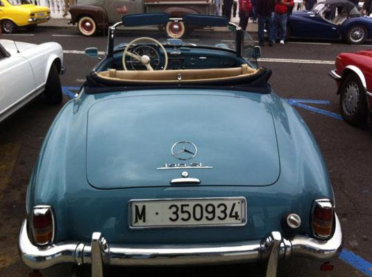 Mercedes-Benz W 121 B II, 190 SL, 1955 - 1963, 1963