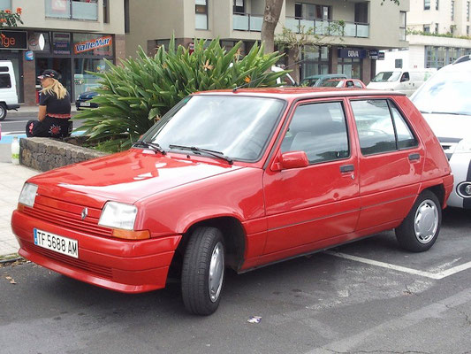 Renault 5, 1972 - 1992, 1992