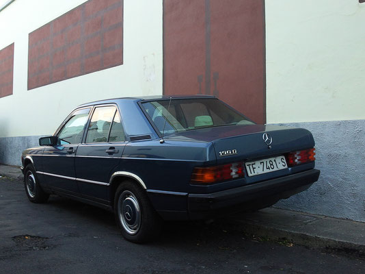Mercedes 190E, 1983
