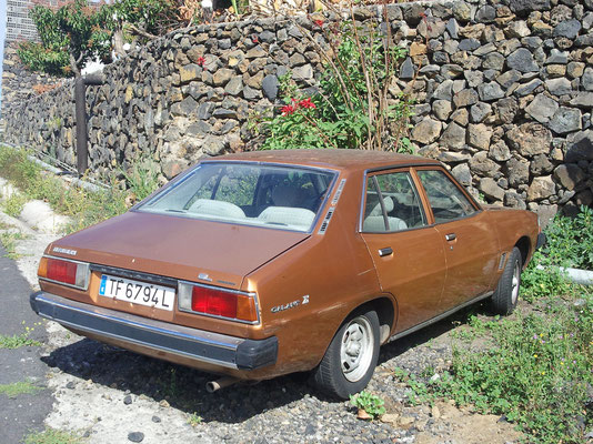 Mitsubishi Galant Sigma Limousine, 1980
