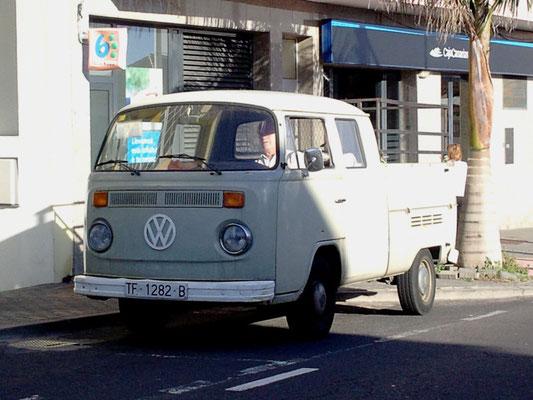 VW Pritschenwagen T2b, 1972