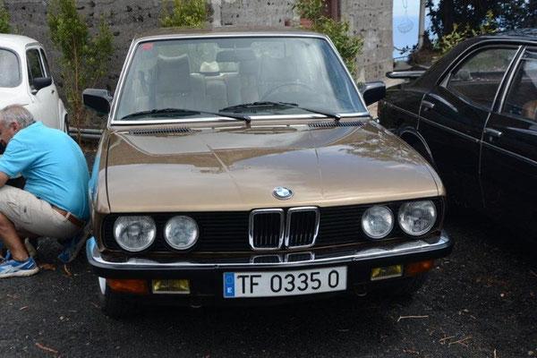 BMW 528i, 1982
