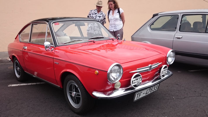 FIAT 850 Sport Coupe, 1968 - 1970, 1968