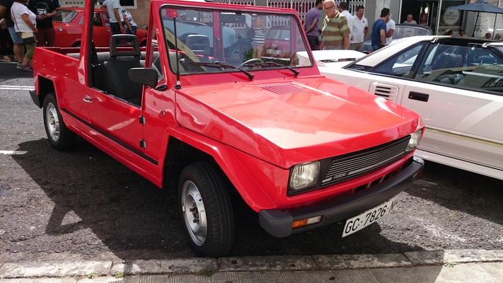 SEAT 127 Emelba Samba, 1980