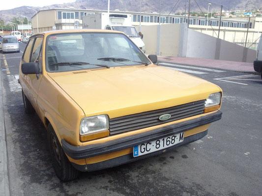Ford Fiesta '76/'82, 1980