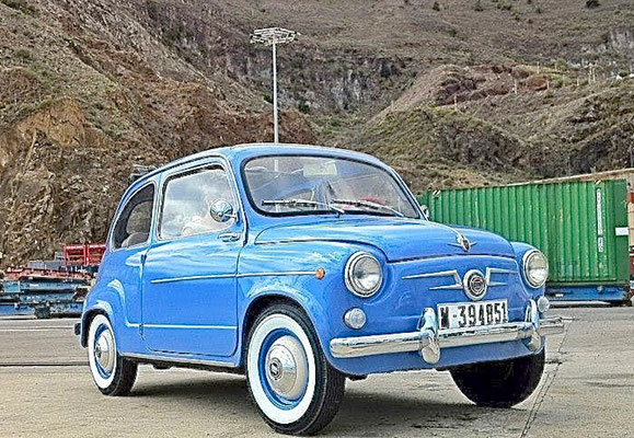 SEAT 600, 1969