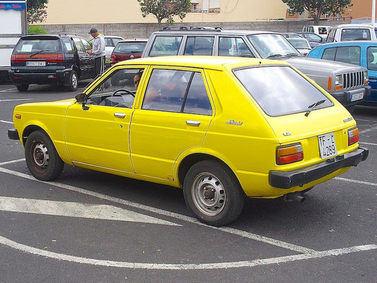 Toyota Starlet P6, 1978 - 1984, 1980