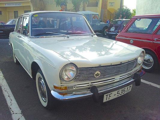 Simca 1301 Limousine, 1969