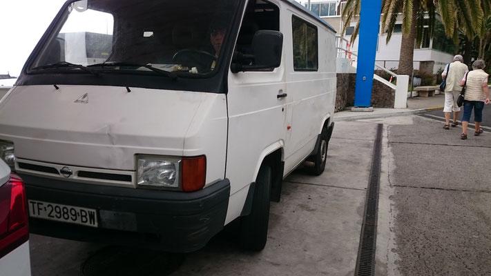 Nissan Trade, der Nachfolger des EBRO F 350