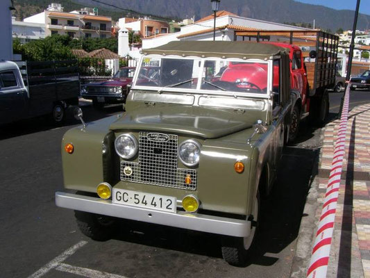 Land Rover Series II, 1968