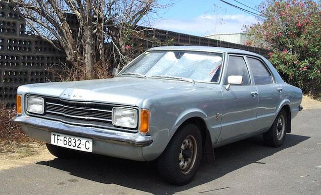 Ford Taunus TC 71, 1971 - 1973, 1973