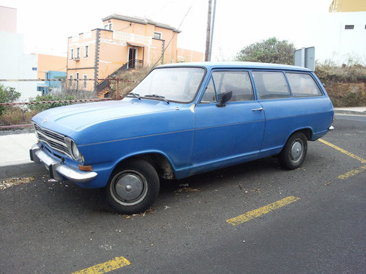 Opel Kadett B Kombi, 1972