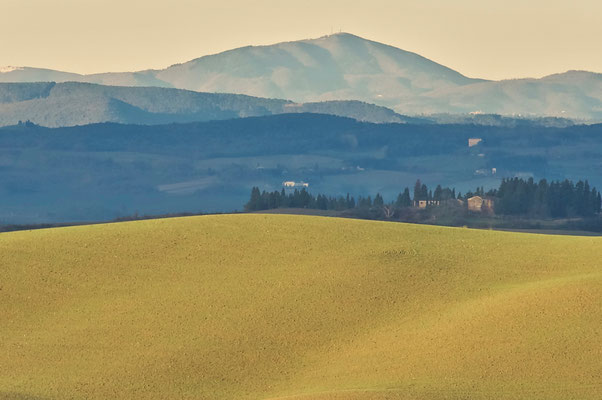 Crete Senesi, Winter No. 3