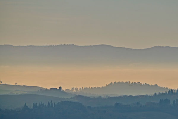 Crete Senesi, Winter No. 33