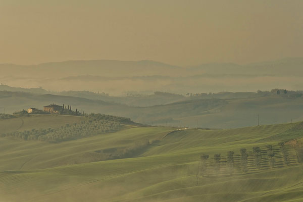 Crete Senesi, Winter No. 18
